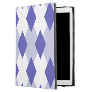 """Argyle Plaid Pattern_4A46B0 iPad Pro 12.9"""" Case"""