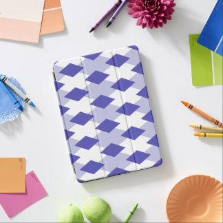 Argyle Plaid Pattern_4A46B0 iPad Pro Cover