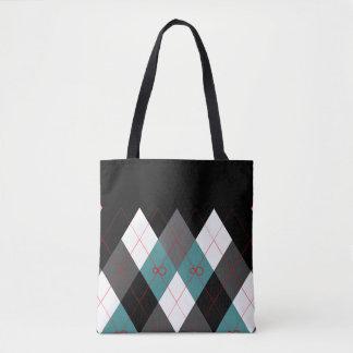 Argyle Revisited 3 Tote Bag
