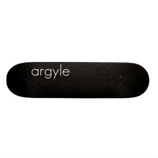 Argyle Sk8 Skate Board Decks