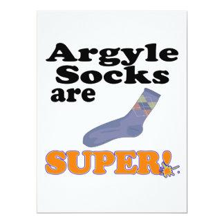 argyle socks are super invites