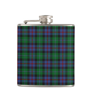 Argyll District Tartan Hip Flask