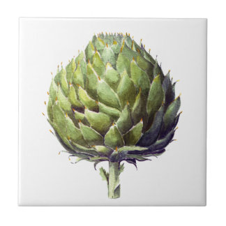 Arhur the artichoke square tile