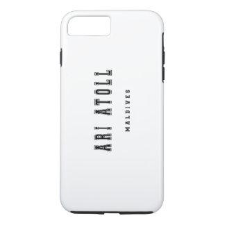 Ari Atoll Maldives iPhone 7 Plus Case