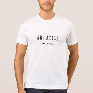Ari Atoll Maldives T-Shirt