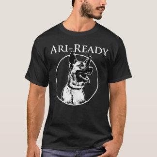 Ari - Ready: Black T-shirt