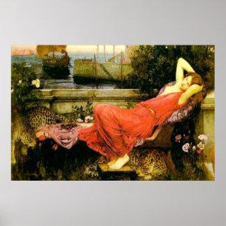 Ariadne (1898)~ Fine Art Canvas Poster