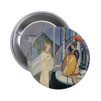 Ariadne and Theseus Buttons