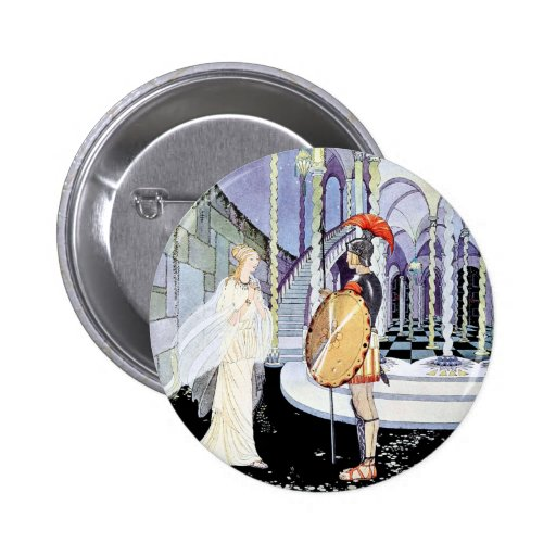 Ariadne and Theseus from Tanglewwod Tales Pin