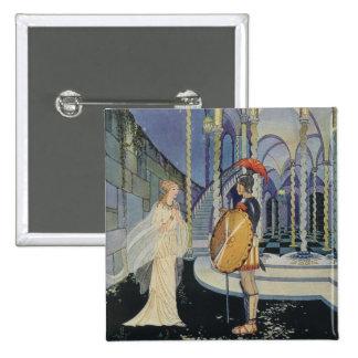 Ariadne and Theseus Pin