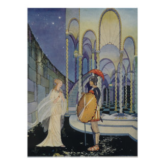Ariadne and Theseus Poster