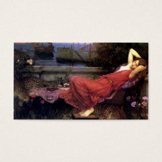 Ariadne by John Waterhouse Business Card