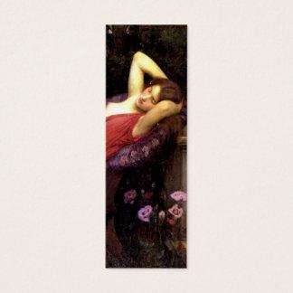 Ariadne by John Waterhouse Mini Business Card