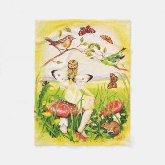 Ariadne Fairy Fleece Blanket