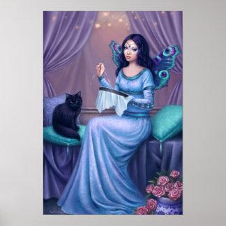 Ariadne Fairy Poster Art Print