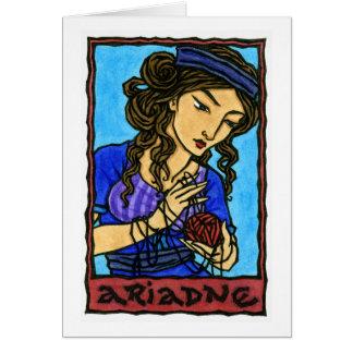 Ariadne Greeting Card