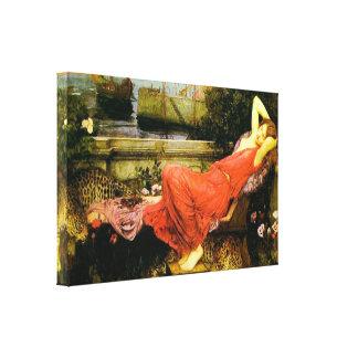 Ariadne ~ John William Waterhouse Canvas Print