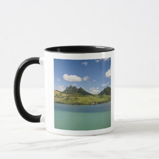 Arial view of Lion Mountain, South East Mug