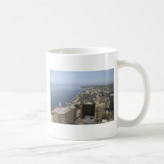 Arial View of Seattle Coffee Mug