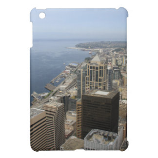Arial View of Seattle iPad Mini Covers