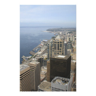 Arial View of Seattle Stationery