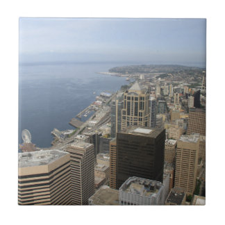 Arial View of Seattle Tile