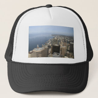 Arial View of Seattle Trucker Hat