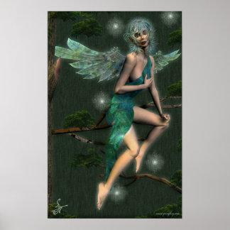 Arianna - Tree Elf Poster