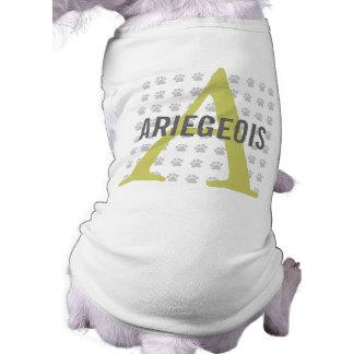 Ariegeois Breed Monogram Pet Tee Shirt