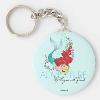 Ariel | Adventure Begins With Friends Keychain
