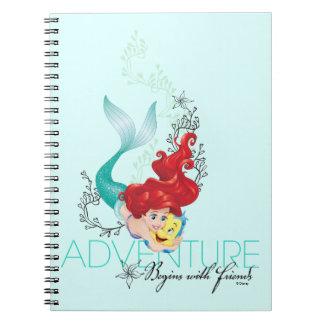 Ariel | Adventure Begins With Friends Note Book