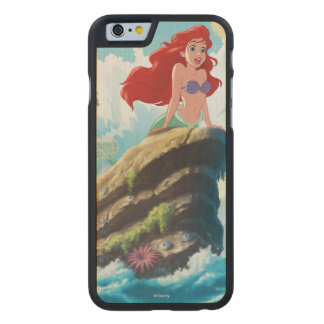 Ariel | Adventure Begins With You Carved® Maple iPhone 6 Case