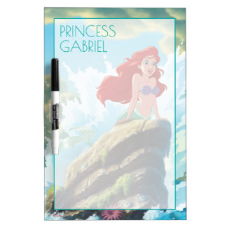 Ariel | Adventure Begins With You Dry Erase Board