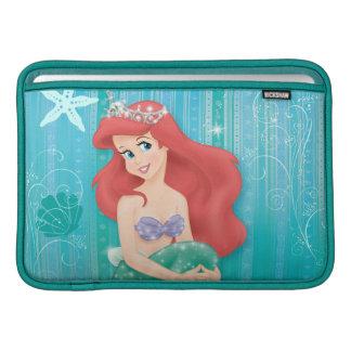 Ariel and Castle MacBook Sleeve