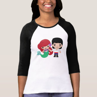 Ariel and Prince Eric Emoji 2 T-Shirt
