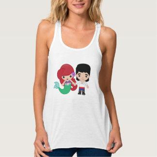 Ariel and Prince Eric Emoji 2 Tank Top