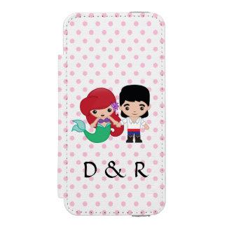 Ariel and Prince Eric Emoji Incipio Watson™ iPhone 5 Wallet Case