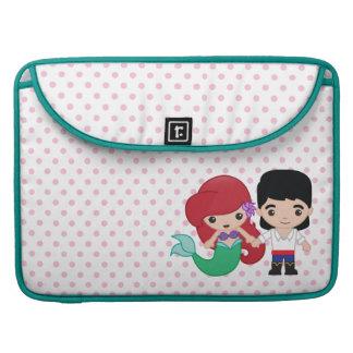 Ariel and Prince Eric Emoji MacBook Pro Sleeve