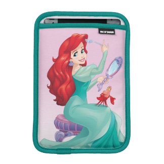 Ariel And Sebastian iPad Mini Sleeve