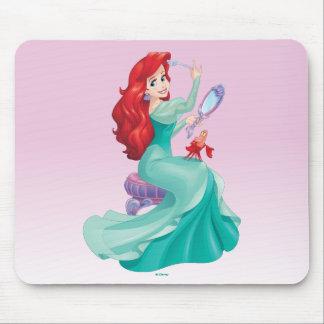 Ariel And Sebastian Mouse Pad