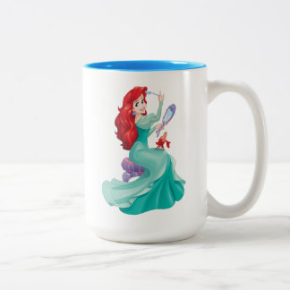 Ariel And Sebastian Two-Tone Coffee Mug