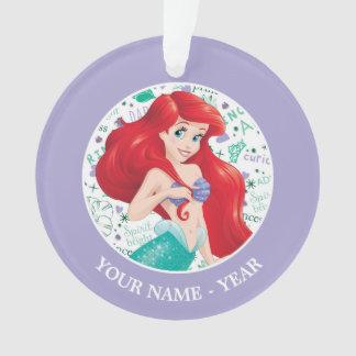 Ariel   Ariel tenant des cheveux ajoutent votre