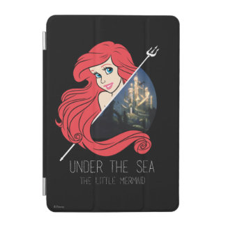 Ariel Atlantis Graphic - Under The Sea iPad Mini Cover