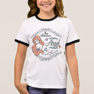 Ariel | Dreaming of Another World Ringer T-Shirt