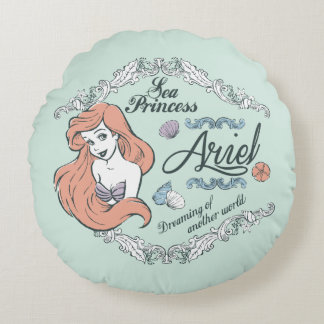 Ariel | Dreaming of Another World Round Pillow