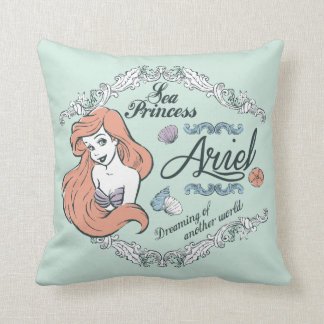 Ariel | Dreaming of Another World Throw Pillow