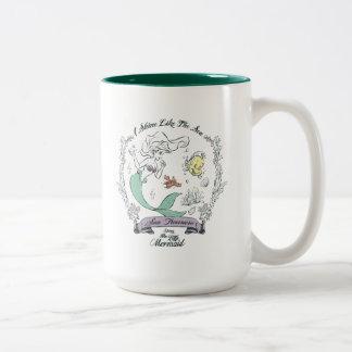 Ariel | I Shine Like the Sea Two-Tone Coffee Mug