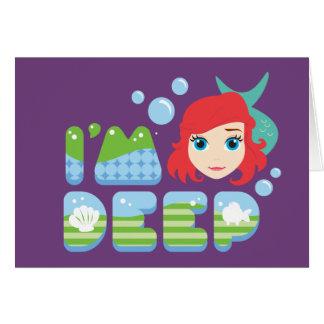 Ariel | I'm Deep Card