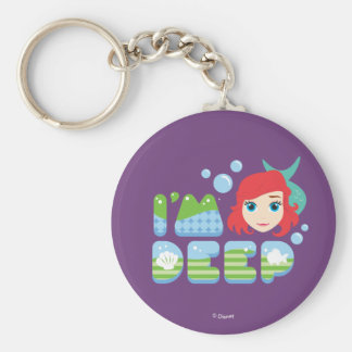 Ariel | I'm Deep Keychain