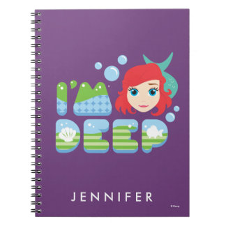 Ariel | I'm Deep Spiral Notebook